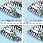 150 Years Lake Line + Train Ferry - Lake Line - Sheet of 20 Stamps Mint