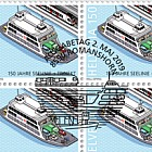 150 Years Lake Line + Train Ferry - Lake Line - Sheet of 20 Stamps CTO