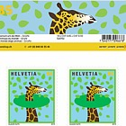 Animals Around the World - Sheetlet Mint - Giraffe