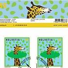 Animals Around the World - Sheetlet CTO - Giraffe