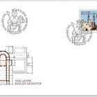 1000 Years Basel Cathedral - FDC Stamp