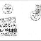 Hand Lettering - Calligraphy - FDC Stamp