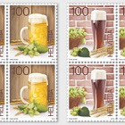 The Art of Brewing Beer - Block of 4 Mint