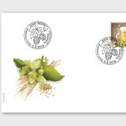 The Art of Brewing Beer - FDC Single Stamp
