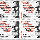 Carl Spitteler 100 Years Nobel Prize in Literature 1919–2019 - Block of 4 Mint