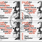 Carl Spitteler 100 Years Nobel Prize in Literature 1919–2019 - Block of 4 CTO