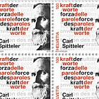 Carl Spitteler 100 Years Nobel Prize in Literature 1919–2019 - Sheet of 20 Mint