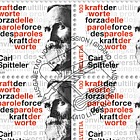 Carl Spitteler 100 Years Nobel Prize in Literature 1919–2019 - Sheet of 20 CTO