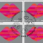 Pro Juventute – 30 Years Children's Rights - Sheetlet x10 Stamps CTO - Listening