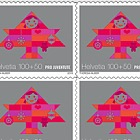Pro Juventute – 30 Years Children's Rights - Sheetlet x10 Stamps Mint - Bring Happiness