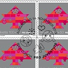 Pro Juventute – 30 Years Children's Rights - Sheetlet x10 Stamps CTO - Bring Happiness