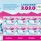 Winter Youth Olympic Games 2020 - Sheetlet 8 Stamps Mint