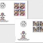 Joint Issue Switzerland-Liectenstein, Social Diversity (Swiss Stamps) - FDC Block of 4