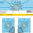Christmas 2019 - Sheetlet 10 Stamps CTO - Snowflake