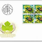 International Year of Plant Health - FDC Block of 4