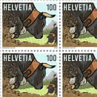 100 Years Swiss Federation of Live-Stock Farming of the Hérens Breed - Sheet x20 Stamps Mint