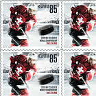 Ice Hockey World Championship in Switzerland -  Puck Sheetlet x10 Stamps Mint