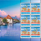 2000 Years Solothurn Town - Sheetlet x9 Stamps Mint
