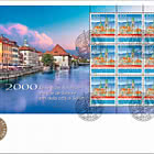 2000 Years Solothurn Town - FDC Sheetlet