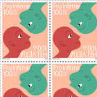 100th Anniversary of Pro Infirmis - Sheet x16 Stamps Mint