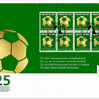 125 Years Swiss Football Association - FDC Sheetlet