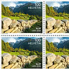 50 years of the Swiss Foundation for Landscape Conservation - Sheet x16 Stamps Mint
