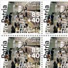 Pro Patria – Living Cultural Heritage - Sitterwerk St. Gallen - Sheet x20 Stamps Mint