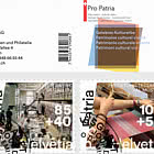 Pro Patria – Living Cultural Heritage - Stamp Booklet CTO