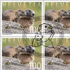 Animal Families - Marmot - Sheetlet x10 Stamps CTO