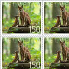 Animal Families - Lynx - Sheetlet x10 Stamps Mint