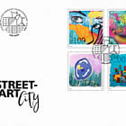 Street-Art – Smart City - FDC Set
