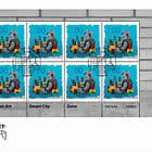 Street-Art – Smart City - Zaira - FDC Sheetlet