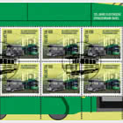 125 Years Basel Electric Tram - Sheet x 10 Stamps CTO