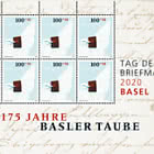 Stamp Day 2020 Basel - Sheet of 8 Stamps Mint