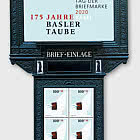 Stamp Day 2020 Basel - Special Sheet of 4 Stamps