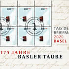 Stamp Day 2020 Basel - Sheet of 8 Stamps CTO