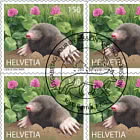 Animals In The City - Mole Sheetlet x 10 Stamps - CTO