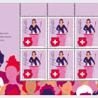 50 Years Women's Suffrage - Sheetlet x 8 Stamps - Mint