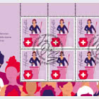 50 Years Women's Suffrage - Sheetlet x 8 Stamps - CTO