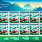 150 Years of Rigi Railways - Sheet x 10 Stamps - Mint