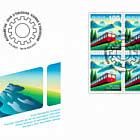 150 Years of Rigi Railways - FDC Block of 4