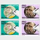 Pro Patria − Craftsmanship And Cultural Heritage - Block of 4 Mint