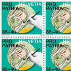 Pro Patria − Craftsmanship And Cultural Heritage - Fresco Sheet x 20 Stamps - Mint