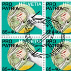 Pro Patria − Craftsmanship And Cultural Heritage - Fresco Sheet x 20 Stamps - CTO
