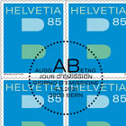 A Mail and B Mail - 0.85 B - Sheet x 10 Stamps CTO