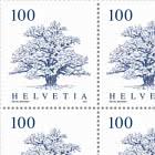 Trees - Oak Sheet x 12 Stamps - Mint