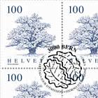 Trees - Oak Sheet x 12 Stamps - CTO