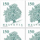 Trees - Sycamore Sheet x 12 Stamps - Mint