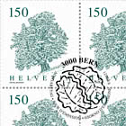 Trees - Sycamore Sheet x 12 Stamps - CTO