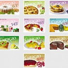 Serie di alimenti - dolci